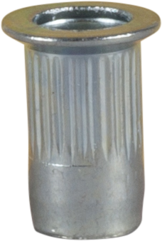 BLIND NUT RIVET, STEEL, COUNTERSUNK HEAD, ZINC PLATED