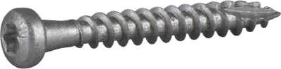 WOOD CONNECTOR SCREW WITH FIBRE CUT, CORRSEAL