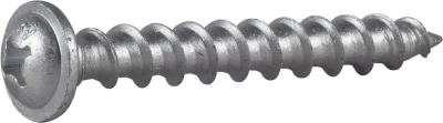 LIGHTCONCRETE SCREW 8X65 PAN HEAD WITH FLANGE PH3 CS