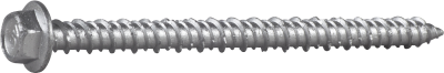 CONCRETE SCREW, HEX HEAD WITH FLANGE, CORRSEAL