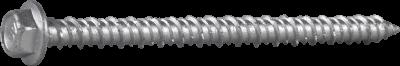 CONCRETE SCREW ECS-HF, HEX HEAD WITH FLANGE, CORRSEAL