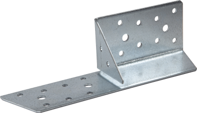 UNIVERSAL FRAMING ANCHOR TYPE 190, HOT DIP GALVANIZED