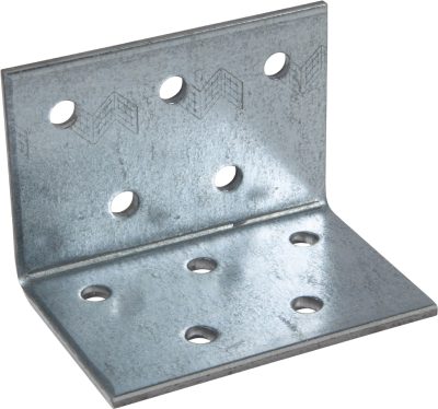 NAIL PLATE ANGLE BRACKET, HOT DIP GALVANIZED