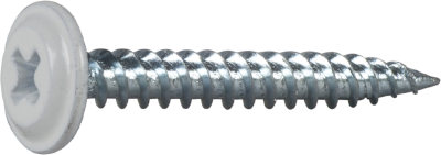 WAFER HEAD SCREW SHARP POINT, FOR WOOD/STEEL JOISTS, PAINTED