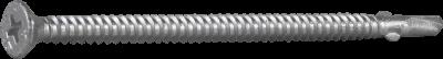Vingeskrue med borspiss for stål, CorrSeal, Ph feste
