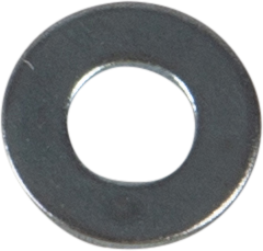 PLAIN WASHER, DIN 125/ISO 7089, ELECTRO ZINC PLATED