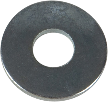 RIVET WASHER, BRIGHT ZINC PLATED