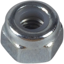LOCK NUT LOW, DIN 985, ELECTRO ZINC PLATED