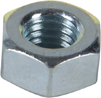 HEXAGON NUT, DIN 934. BRIGHT ZINC PLATED