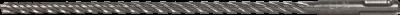 Kalamasis grąžtas ESSVE 4 Cutter SDS-Plus, 4 rėžtukų
