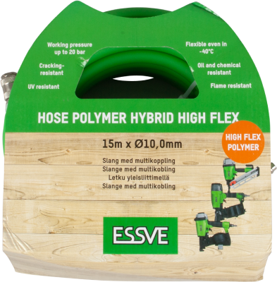 HIGH FLEX AIR HOSE POLYMER HYBRID, 15M