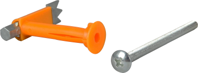 DRYWALL ANCHOR DUCK FOOT, SINGLE AND DOUBLE DRYWALL