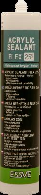 AKRYL FLEX 25% - KVALITEETNE MAALRIHERMEETIK. MAX 25 MM VUUK
