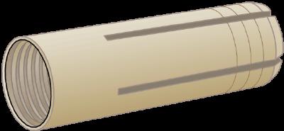 DROP-IN ANCHOR EDA, BRIGHT ZINC-PLATED
