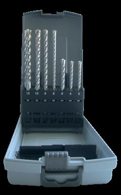 Kalamųjų grąžtų kasetė ESSVE 4 Cutter SDS-Plus, 4 rėžtukų