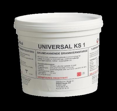Ugunsizturīgā krāsa Universal KS 1