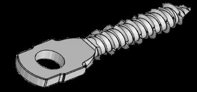 CONCRETE SCREW WITH EYE 6,3X30 EZP