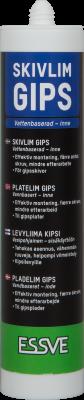 PLADELIM GIPS - GIPS PÅ GIPS, TRÆ ELLER STÅLPROFIL