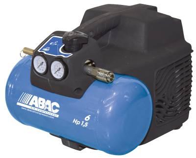 Kolvkompressor ABAC LINE O15 1,5Hp Oljefri