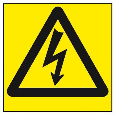 Varoitusmerkki Sähköjännite
