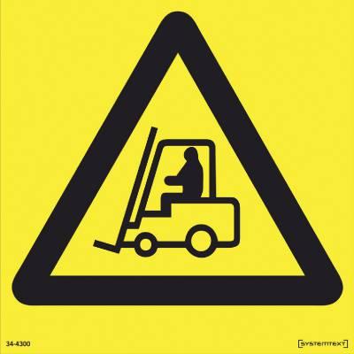 Varoitusmerkki Tavaraliikenne 34-4300