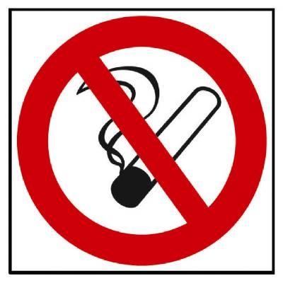 Förbudsskylt 34-9951, 36-1950, 36-1950A, 34-9950 Rökning förbjuden