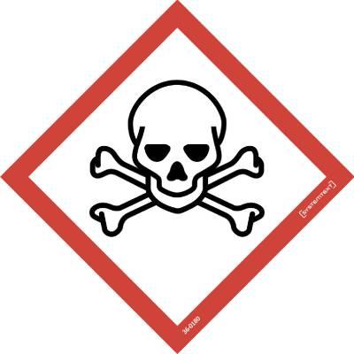 Kilpi Symboli CLP Myrkyllinen