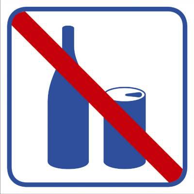 Pictogram Förtäring av dryck förbjuden