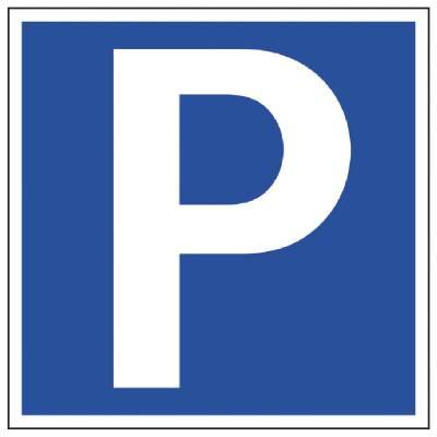 Parkeringsskylt Parkering