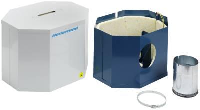 Ljuddämpande box till Nederman filterpaket