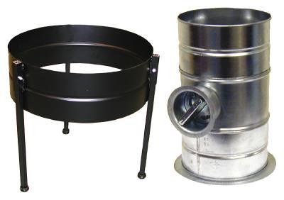 Machine stand for oil mist filter NOM Nederman