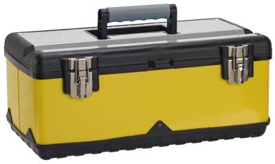 Tool box yellow plastic MJ-20140
