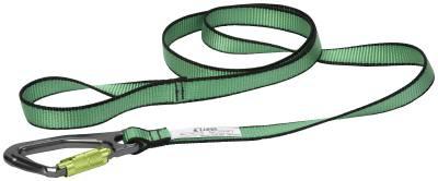 Båndstropp med karabinkrok for verktøysikring