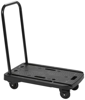Folding transport trolley