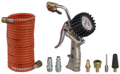 Air pump with dial gauge ANI 25/A2-D