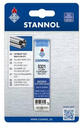 Lödtråd med flussmedel Stannol Typ S 321 Ecoloy