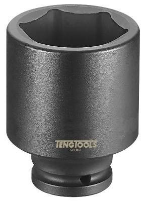 Impact socket. With 3/4' square drive. Teng Tools 940224 / 940260