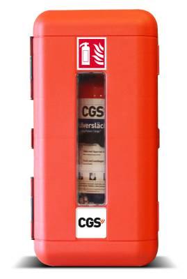 Skåp till 6 kg brandsläckare Housegard