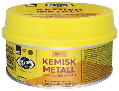 PTX PP Spackel kemisk metall 180 ml/460 ml