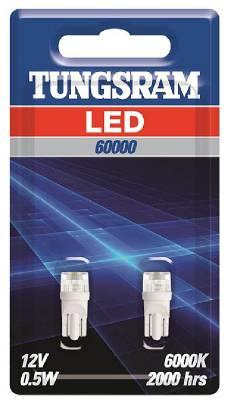 LED lampa W5W, C5W 12/24V