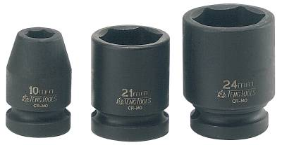 Impact socket. With 1/2' square drive Teng Tools