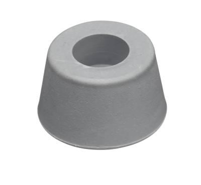 Dörrstopp gummi grå STRUKTUR