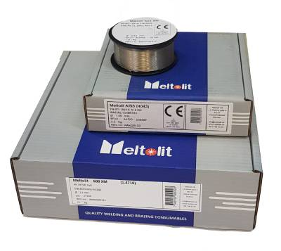Welding wire unalloyed and low alloy SG2, SG3 Meltolit