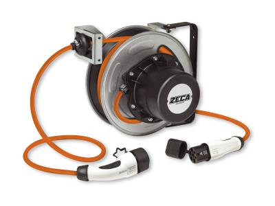 Cable reel for electric vehicle charging Zeca