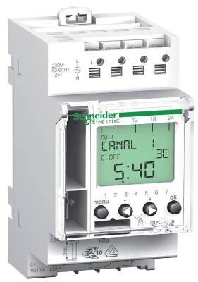 Kopplingsur digitalt Schneider Electric