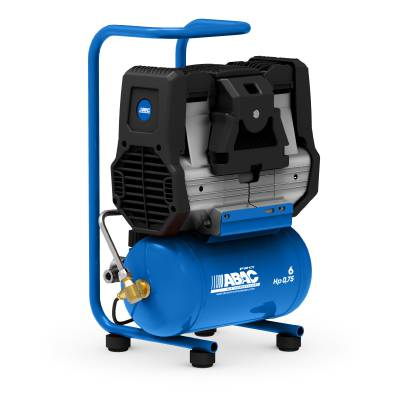 Reciprocating compressor ABAC XSilent (oil-free)