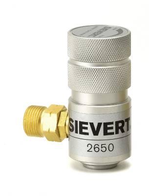 Regulator Sievert for disposable cylinders