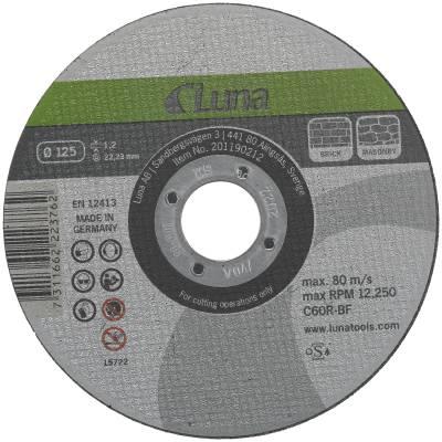 Cut-off wheel Luna for brick and concrete