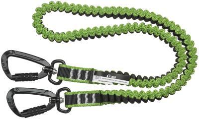Stropp elastisk 1-1,6m med 2 karabinkroker til verktøysikring