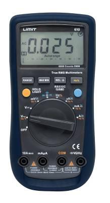 Multimeter Limit 610
